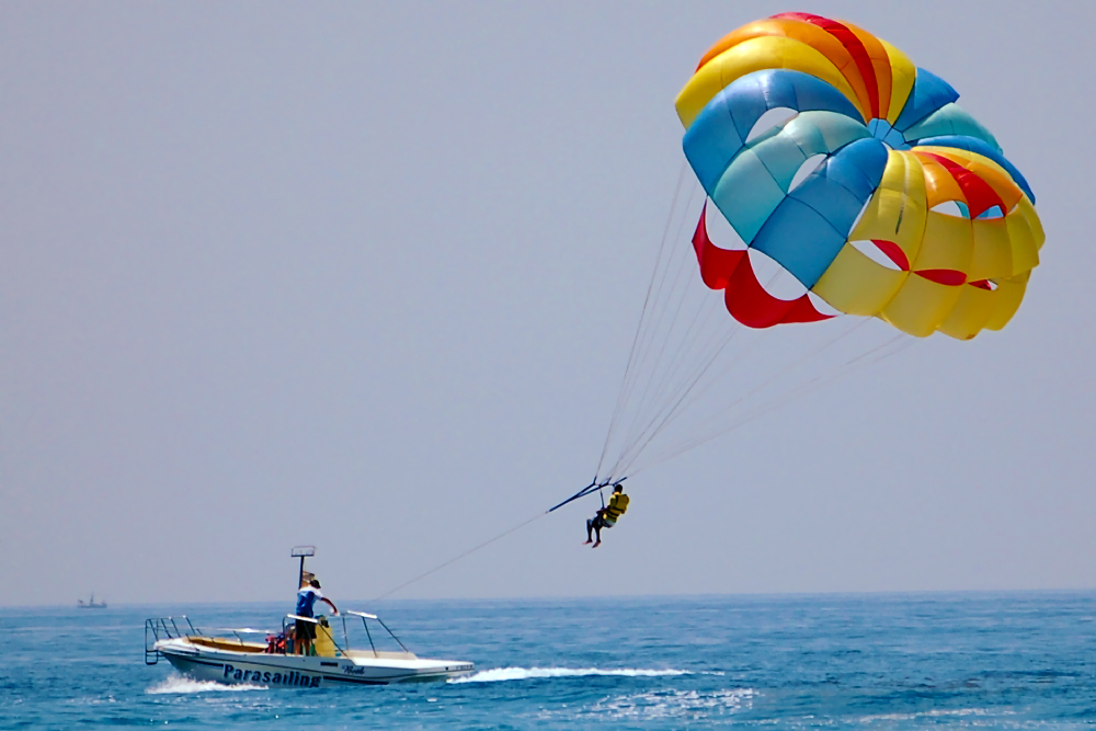 Parasailing - Andaman holiday