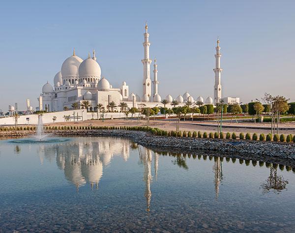 Sheikh Zayed Grand Mosque, UAE