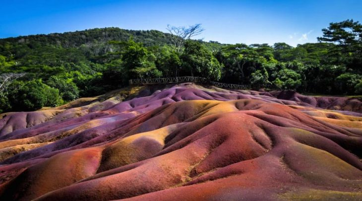 Seven Coloured Land of Chamarel - Mauritius