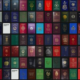 The surprising reasons why passports only come in four colours