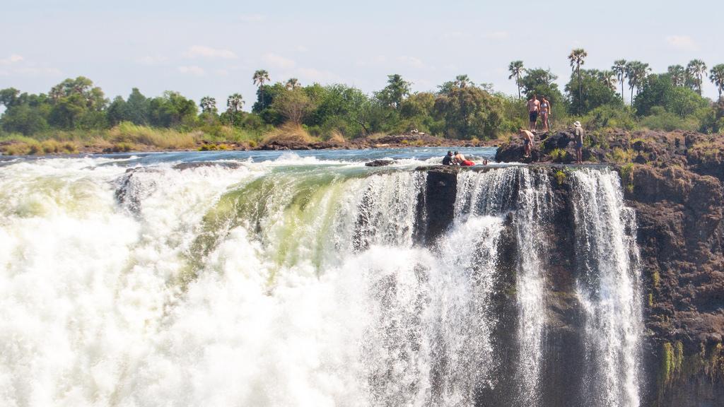 Devil's Pool in Victoria Falls, Zimbabwe