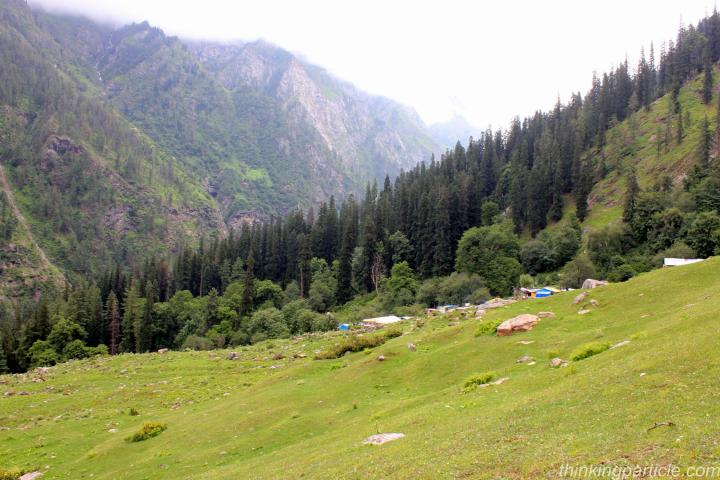 Trek to Kheer Ganga in Kasol