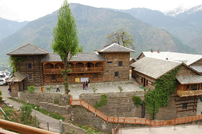 Naggar Village in Kasol