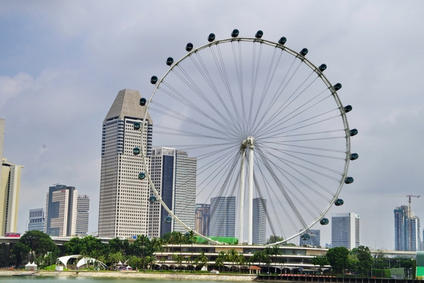 The Flying Ferris, Singapore