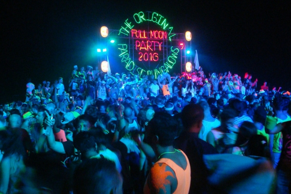 Full Moon Party, Thailand - All About Thailand