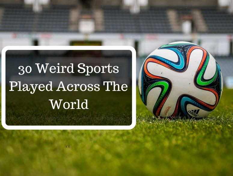30 Weird Sports Played Across The World - Thomas Cook India Travel Blog