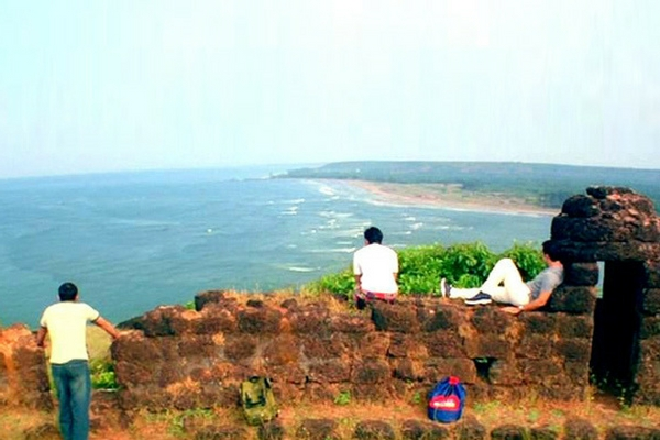 Chapora Fort and Fort Aguada, Goa