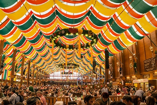 Tents in Beer Festival, Oktoberfest