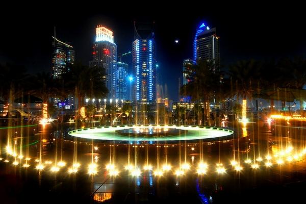 City walk in Dubai