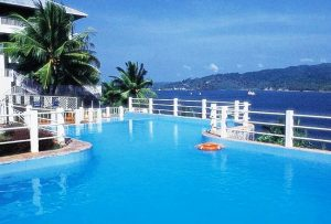 Resort's pool in Andaman