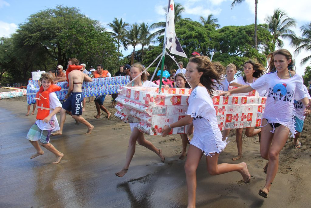 Milk carton regatta