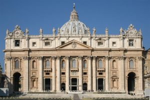 St. Peter's Basilica in Italy