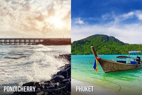 Pondicherry or Phuket
