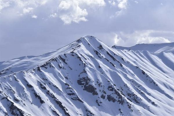 Snow capped mountains, Ladakh