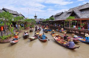 Floating Market - Top 10 Things to do in Pattaya