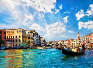 Grand Canal in Italy