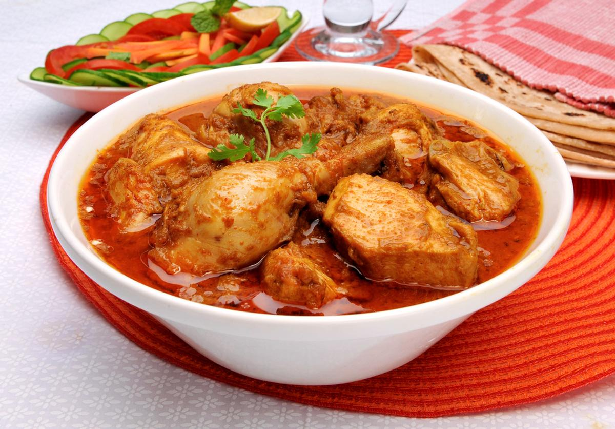 Kukul Mas Curry, Sri Lankan Food