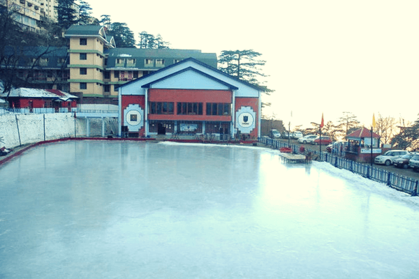 Ice skating, Himachal Pradesh