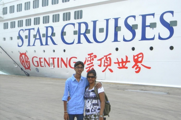 Cruise ride from Phuket to Krabi