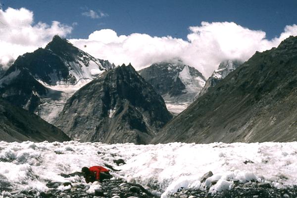 Shigri Glacier in Lahaul-Spiti