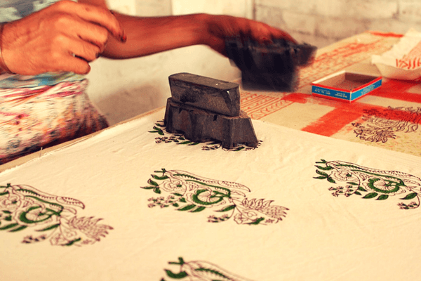 Block printing, Golden Triangle Tour