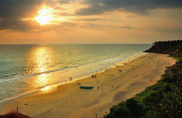 Varkala, New Year Destination in India