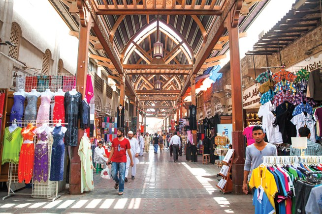Textile Market - Things To Do In Dubai Shopping Festival Apart From Shopping