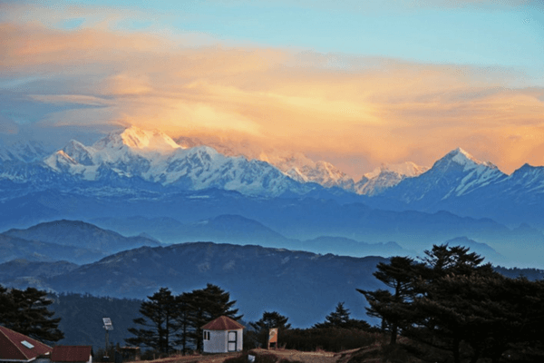 Mt. Kanchenjunga - Most Romantic Honeymoon Destinations In India