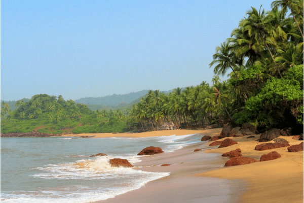 Cavelossim Beach, Beaches in South Goa