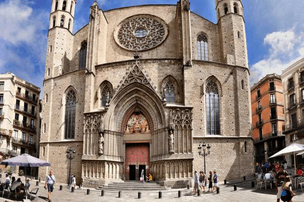 Santa Maria del Mar Cathedral, Barcelona