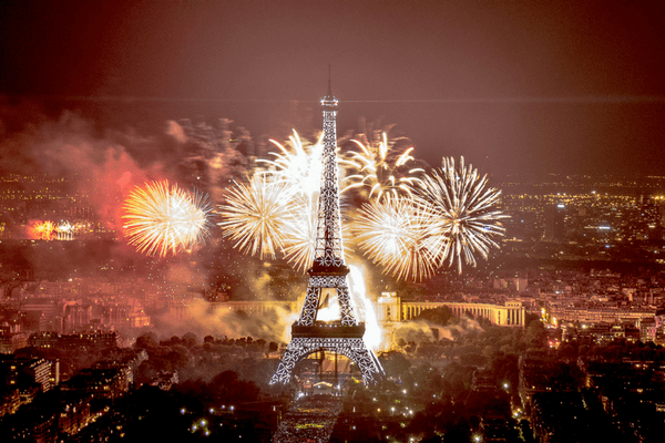 Paris,festive cities in the world for New Year's Eve