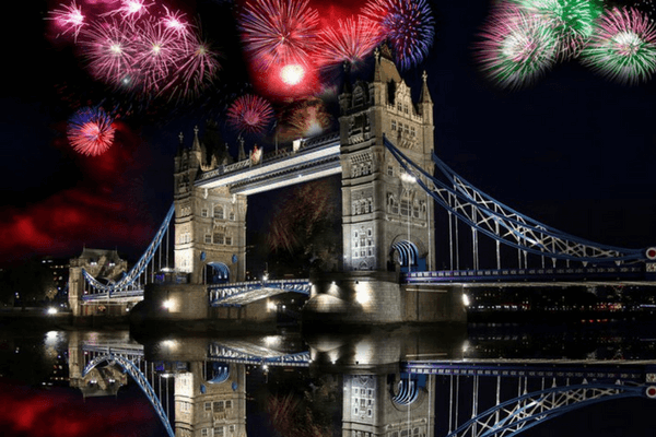 London,festive cities in the world for New Year's Eve