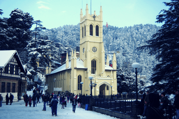 Shimla, Cities in the world for New Year's Eve