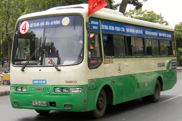 Local Bus - Vietnam On A Budget