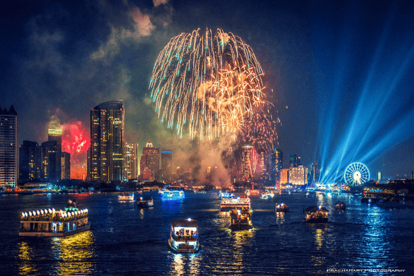 Bangkok,festive cities in the world for New Year's Eve