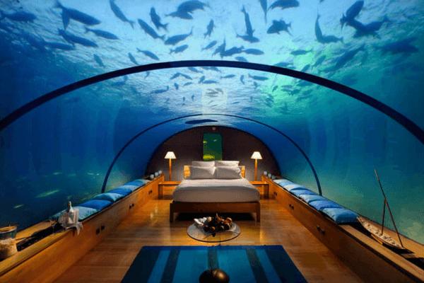 Underwater Hotel, Maldives