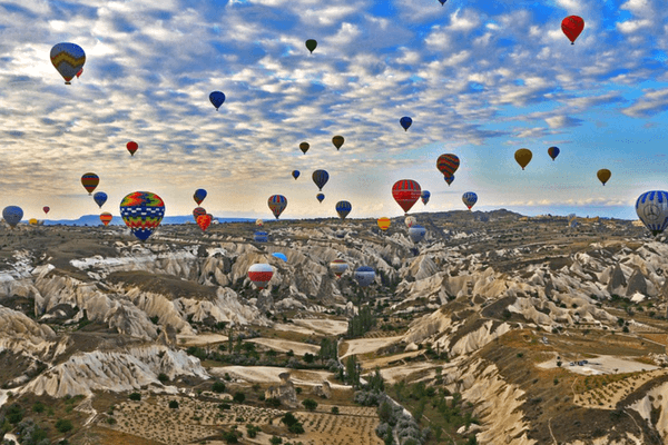 Ho-Air Balloon Ride, Cappadocia, Turkey - Best Honeymoon Destination