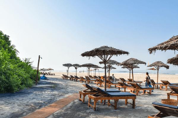 Ashwem Beach, Goa