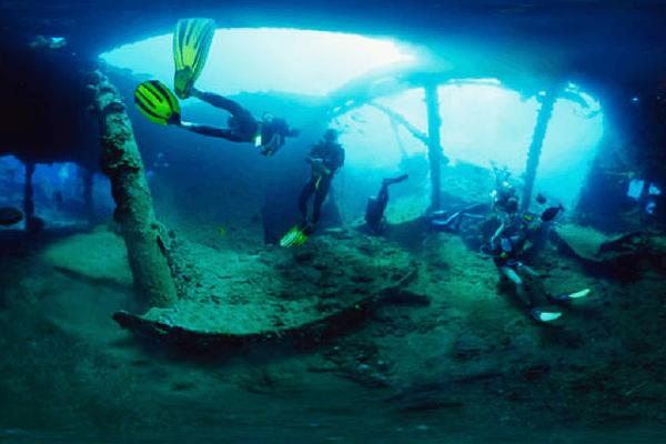 Scuba Diving In Tulamben, Bali