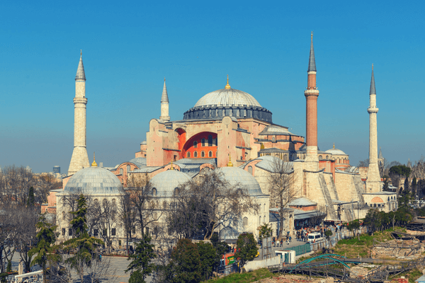 Hagia Sophia, Istanbul - Honeymoon Destination