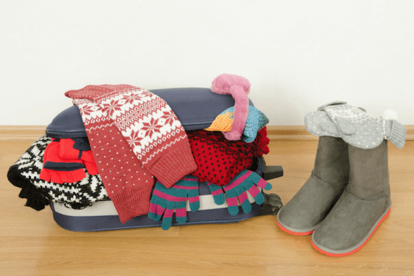 Sweatshirts and pullovers, Winter Holiday Packing Checklist