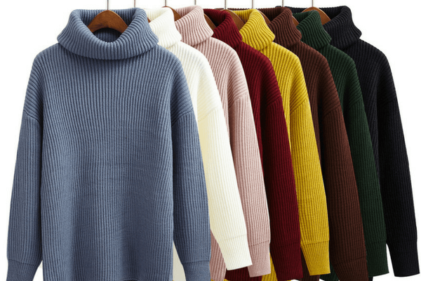 Turtleneck Sweaters - An Ultimate Winter Holiday Packing Checklist