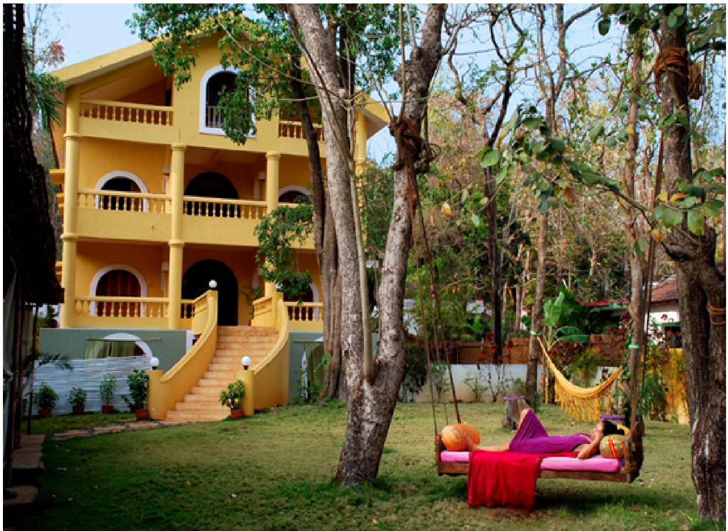 The Purple Valley Yoga Retreat, Goa
