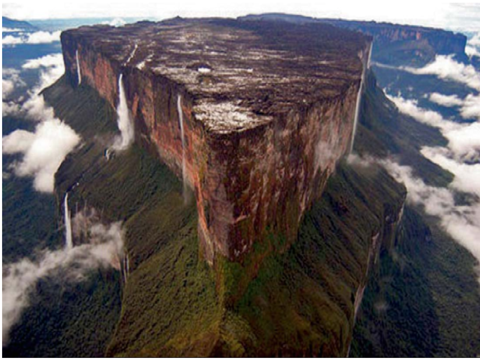 13. The Mount Roraima, Venezuela