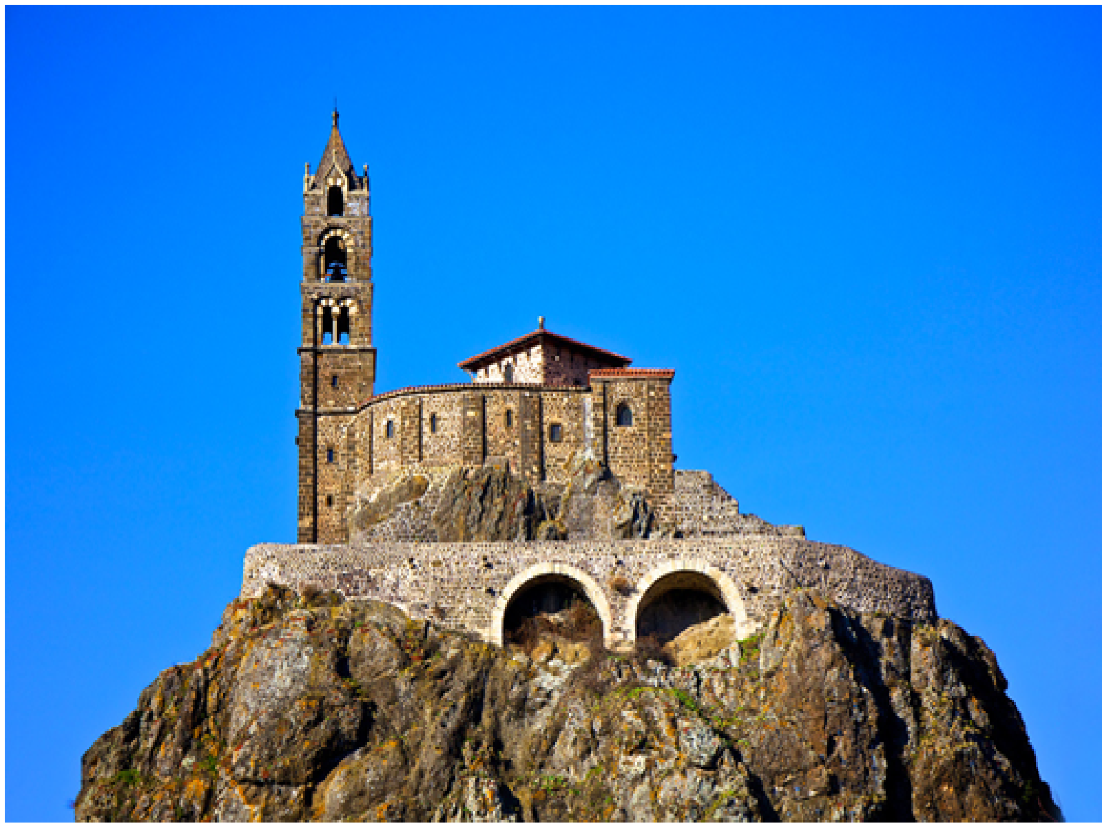 The Chapelle St - Michel d'Aiguilhe, France