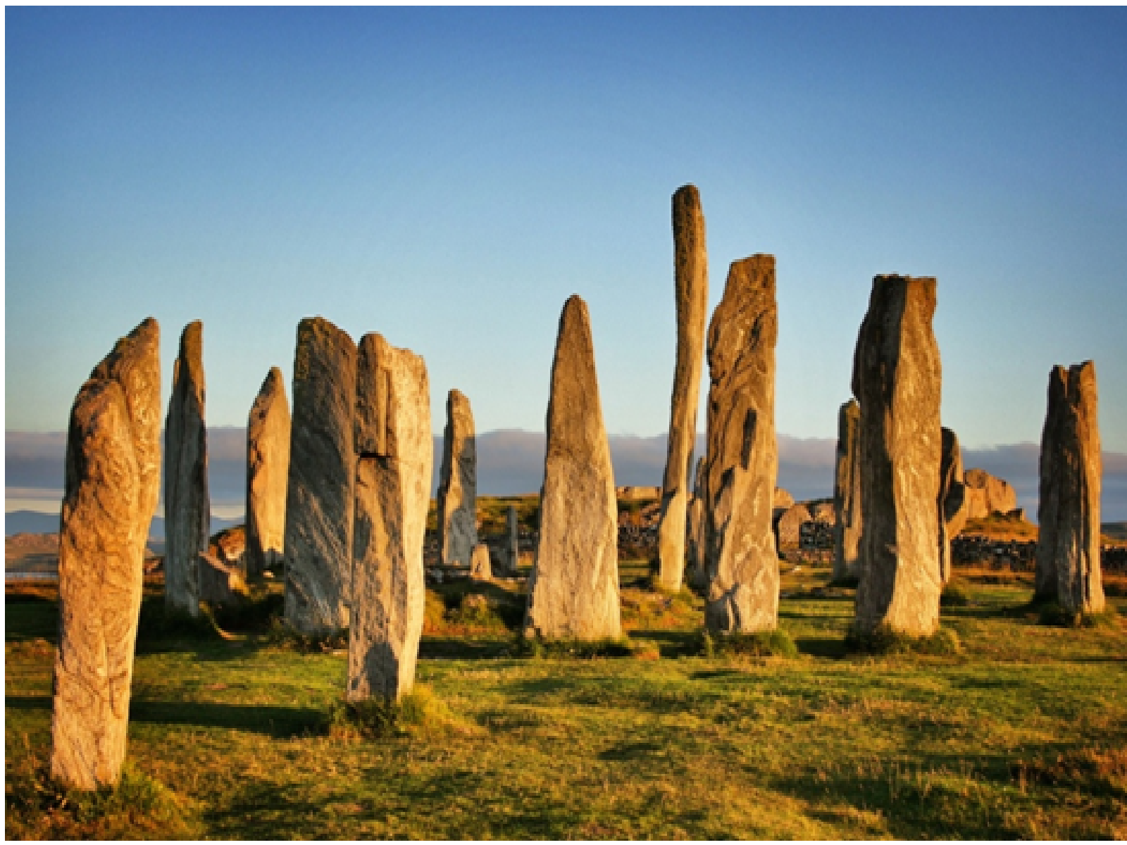 The Standing stone of Callanish