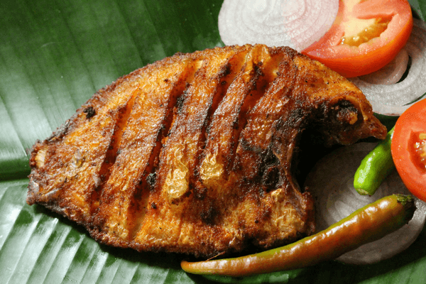 Traditional Fried Kareemeen, Alleppey