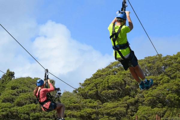 Megazip Adventure Park, Sentosa Island
