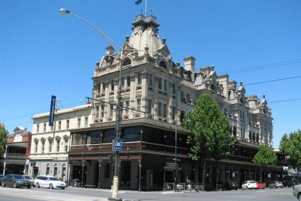 The Hotel Shamrock, Australia