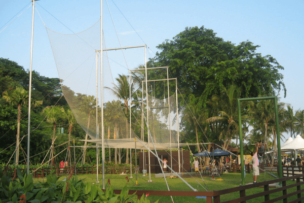 The Flying Trapeze , Sentosa Island